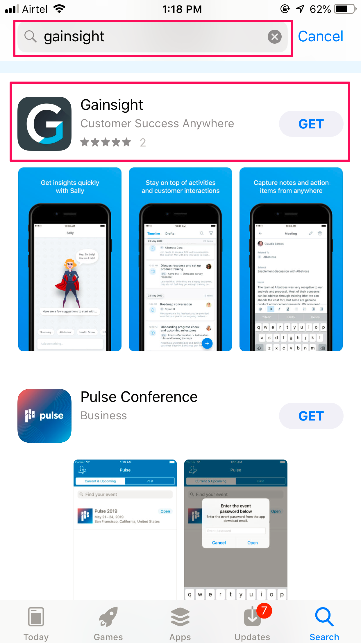 Gainsight Appstore.png